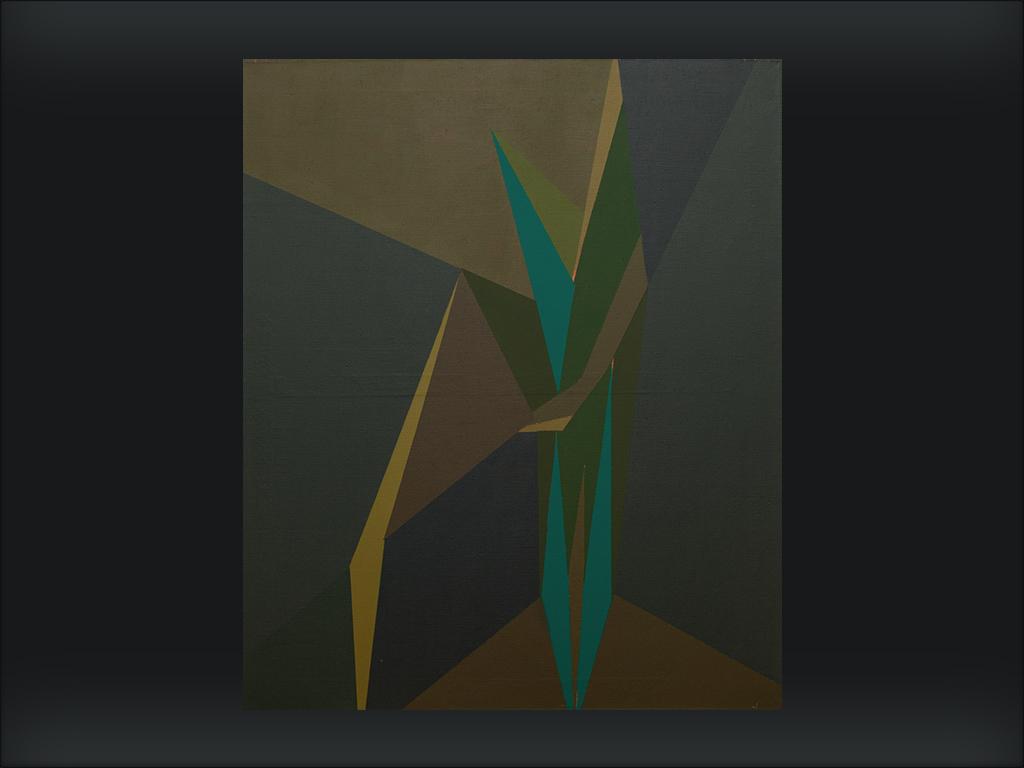 15 Nietoperz ,100cm x 110 cm , akryl itusz akrylowy napłótnie, maj 2003